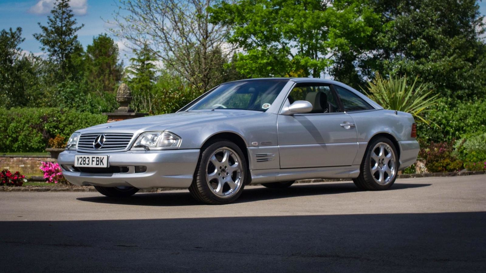 2001 SL500 Silver Arrow For Sale (picture 1 of 6)