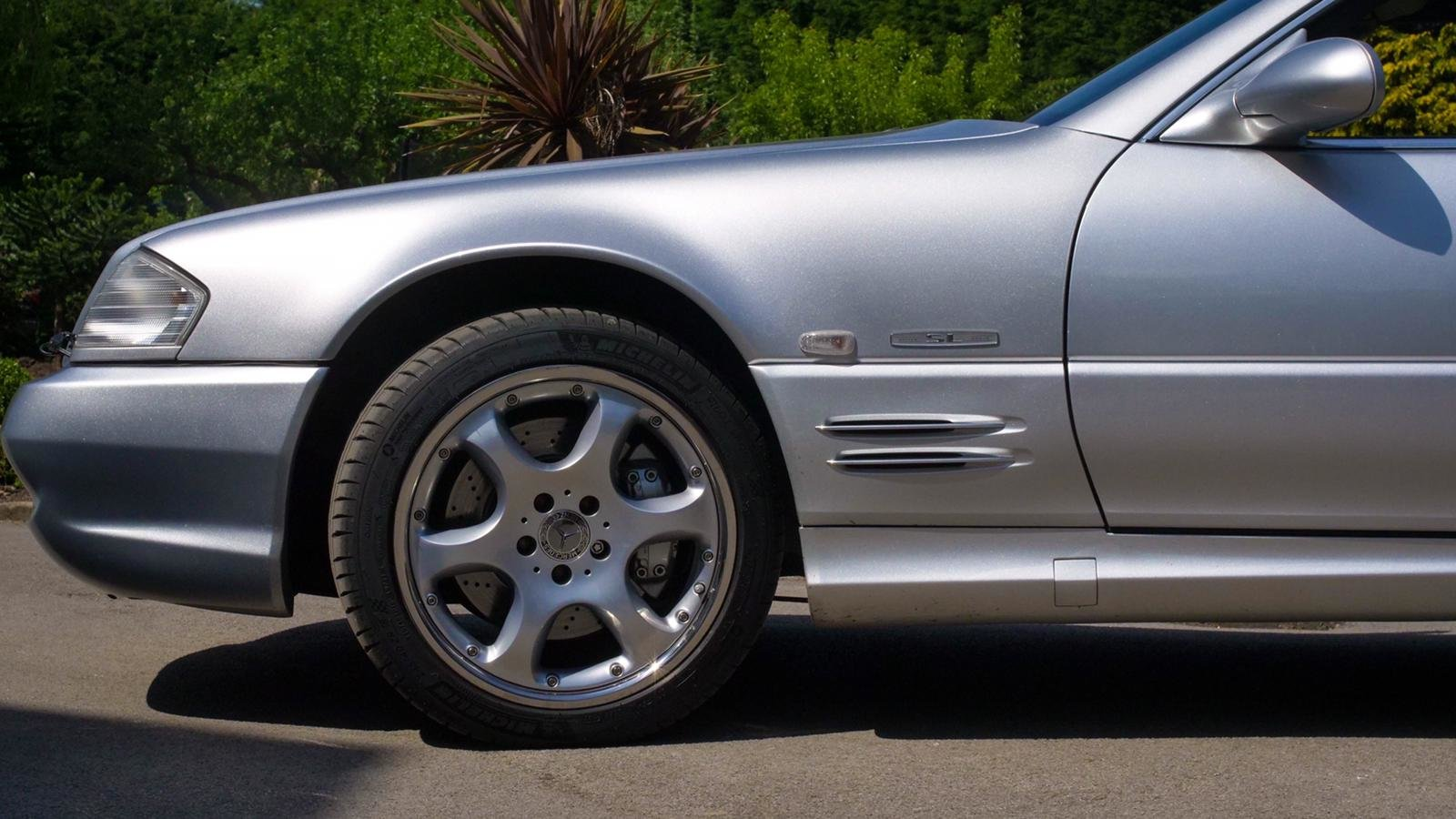 2001 SL500 Silver Arrow For Sale (picture 6 of 6)