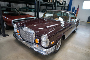 1971 Mercedes-Benz 280SE 3.5 V8 Coupe with factory AC