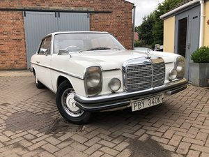 1971 Mercedes-Benz 250 CE Pillarless Coupe