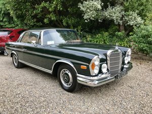 1969 Mercedes 280SE (W111) Amazing condition.