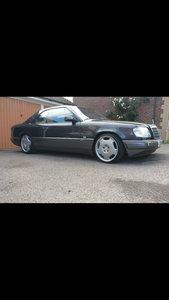 1994 Mercedes benz e class w124 e220 pillerless coupe