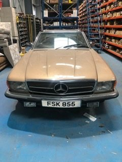 1983 Mercedes 380SL - excellent condition