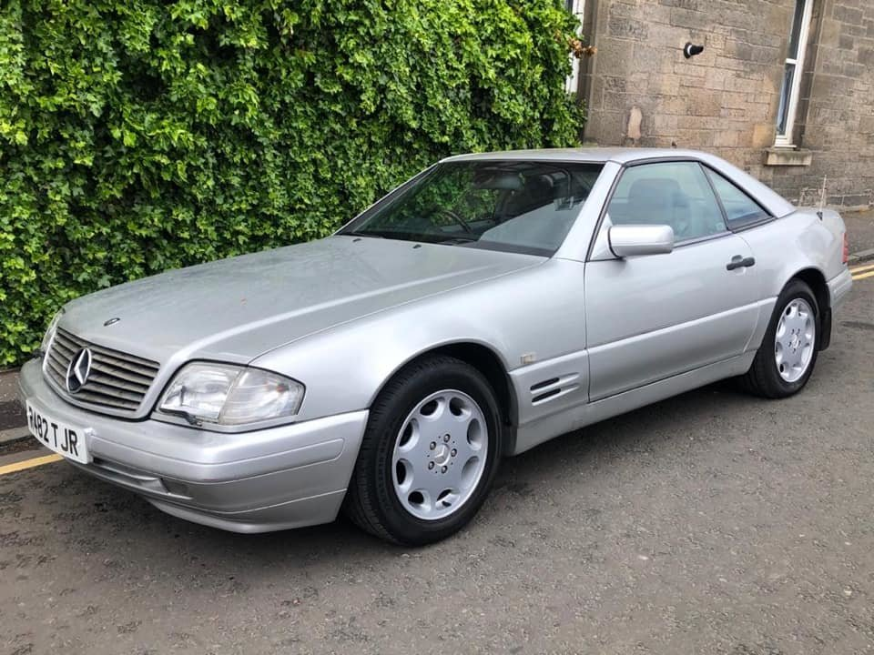 1997 Mercedes Benz SL320  For Sale (picture 1 of 6)