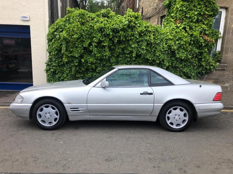 1997 Mercedes Benz SL320  For Sale (picture 6 of 6)
