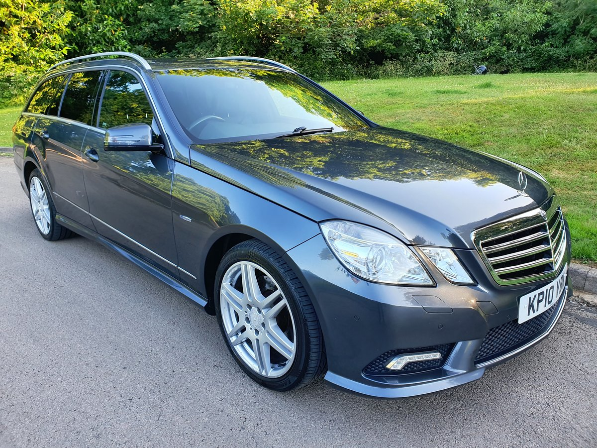 2010 Mercedes E200 Sport Estate.. 7 Seats.. Full AMG Pack.. FSH SOLD (picture 2 of 6)