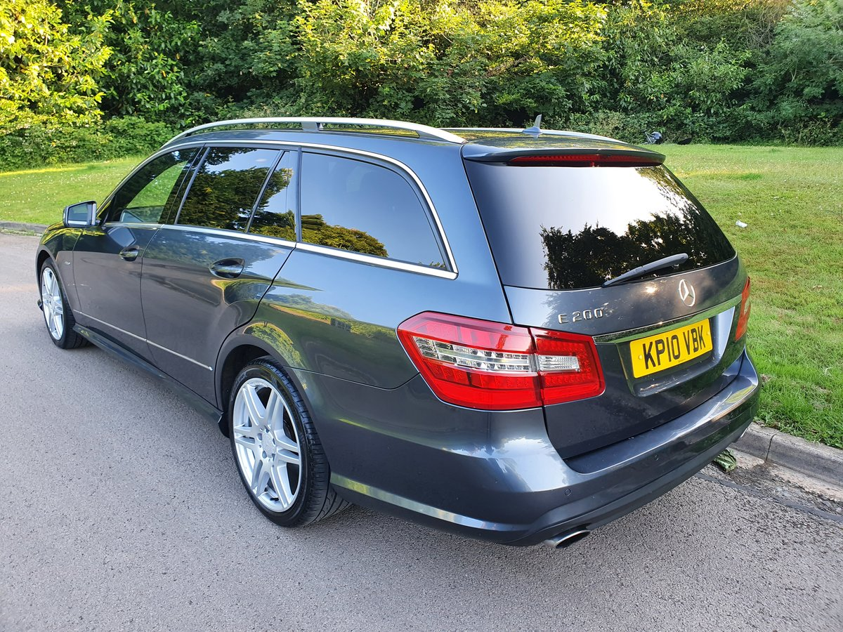 2010 Mercedes E200 Sport Estate.. 7 Seats.. Full AMG Pack.. FSH SOLD (picture 5 of 6)
