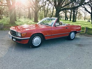 Mercedes 300SLW107 1989 sports Convertible  For Sale