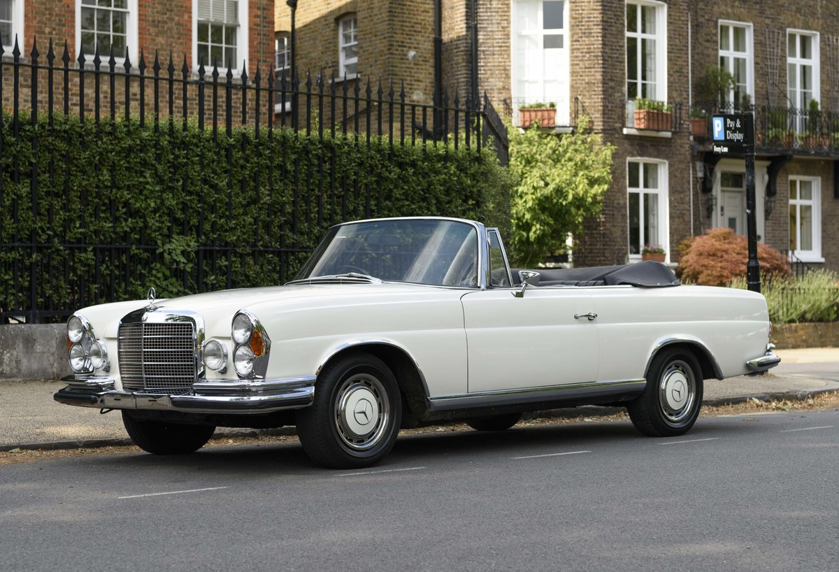 1970 Mercedes-Benz 280SE 3.5 Cabriolet (RHD) For Sale (picture 1 of 1)