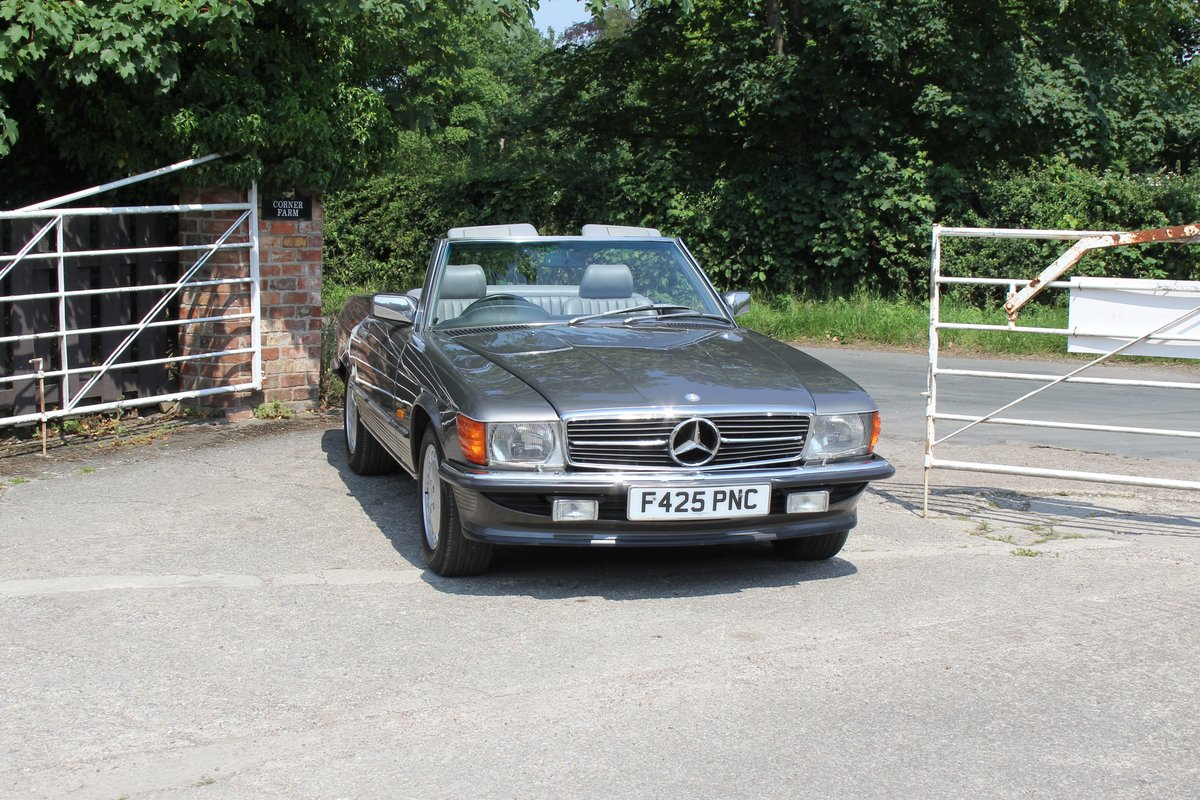 1989 Mercedes Benz 500SL 70k miles,Hard Top,Rear Seats, 2 owners For Sale (picture 1 of 18)