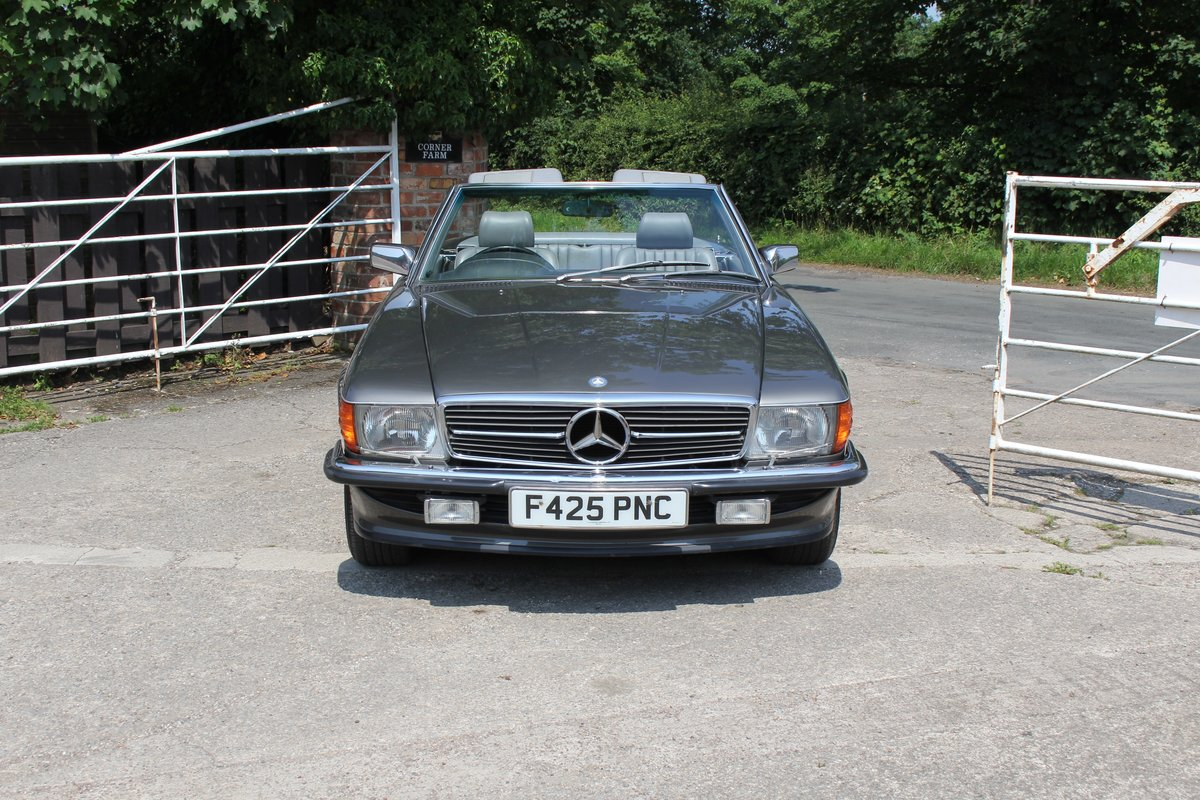 1989 Mercedes Benz 500SL 70k miles,Hard Top,Rear Seats, 2 owners For Sale (picture 2 of 18)