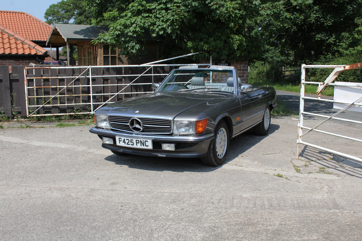 1989 Mercedes Benz 500SL 70k miles,Hard Top,Rear Seats, 2 owners For Sale (picture 3 of 18)