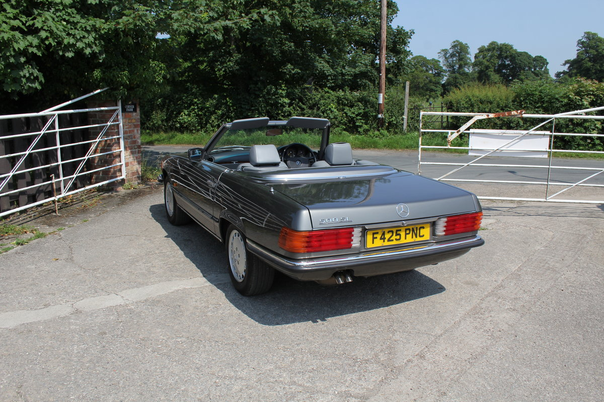 1989 Mercedes Benz 500SL 70k miles,Hard Top,Rear Seats, 2 owners For Sale (picture 4 of 18)