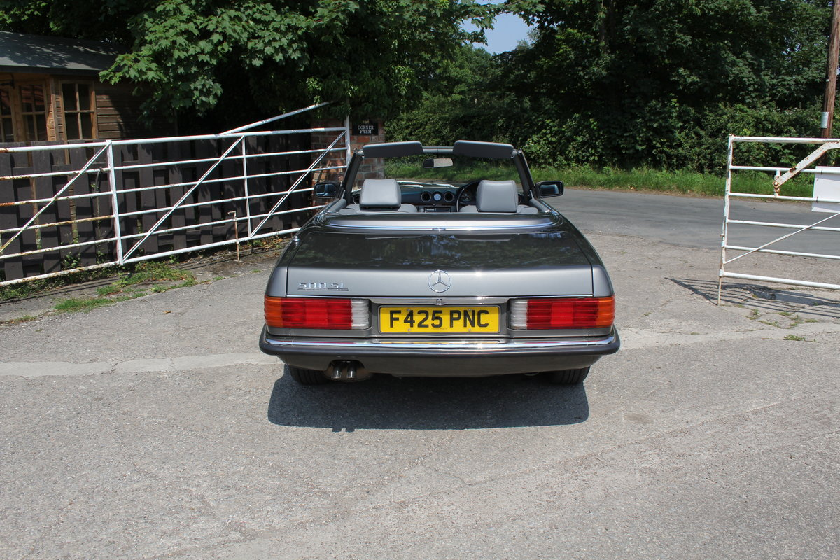 1989 Mercedes Benz 500SL 70k miles,Hard Top,Rear Seats, 2 owners For Sale (picture 5 of 18)