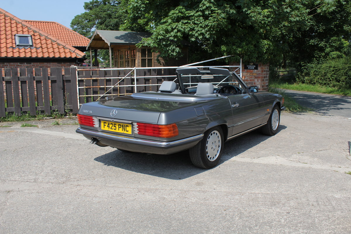 1989 Mercedes Benz 500SL 70k miles,Hard Top,Rear Seats, 2 owners For Sale (picture 6 of 18)