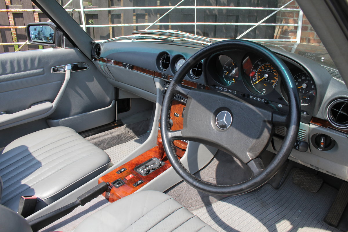 1989 Mercedes Benz 500SL 70k miles,Hard Top,Rear Seats, 2 owners For Sale (picture 7 of 18)