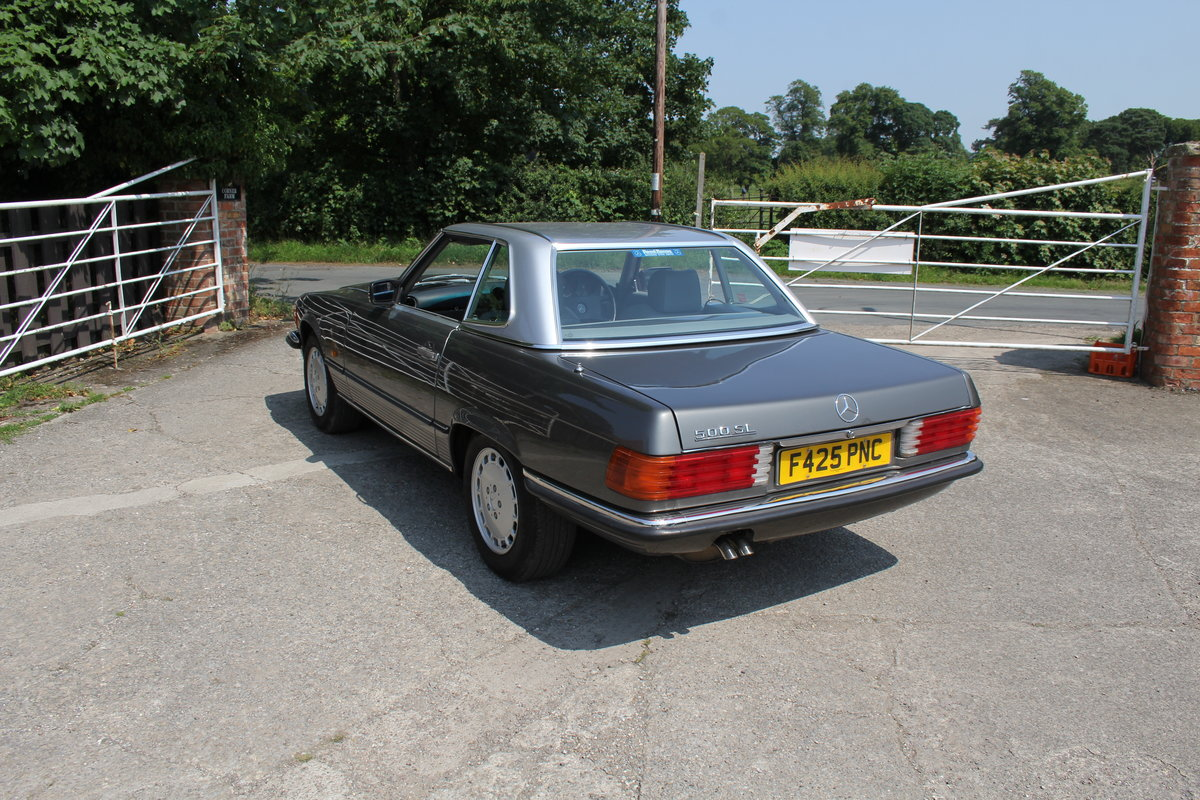 1989 Mercedes Benz 500SL 70k miles,Hard Top,Rear Seats, 2 owners For Sale (picture 16 of 18)