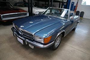 S. California 1972 Mercedes 450SL V8 Roadster  For Sale