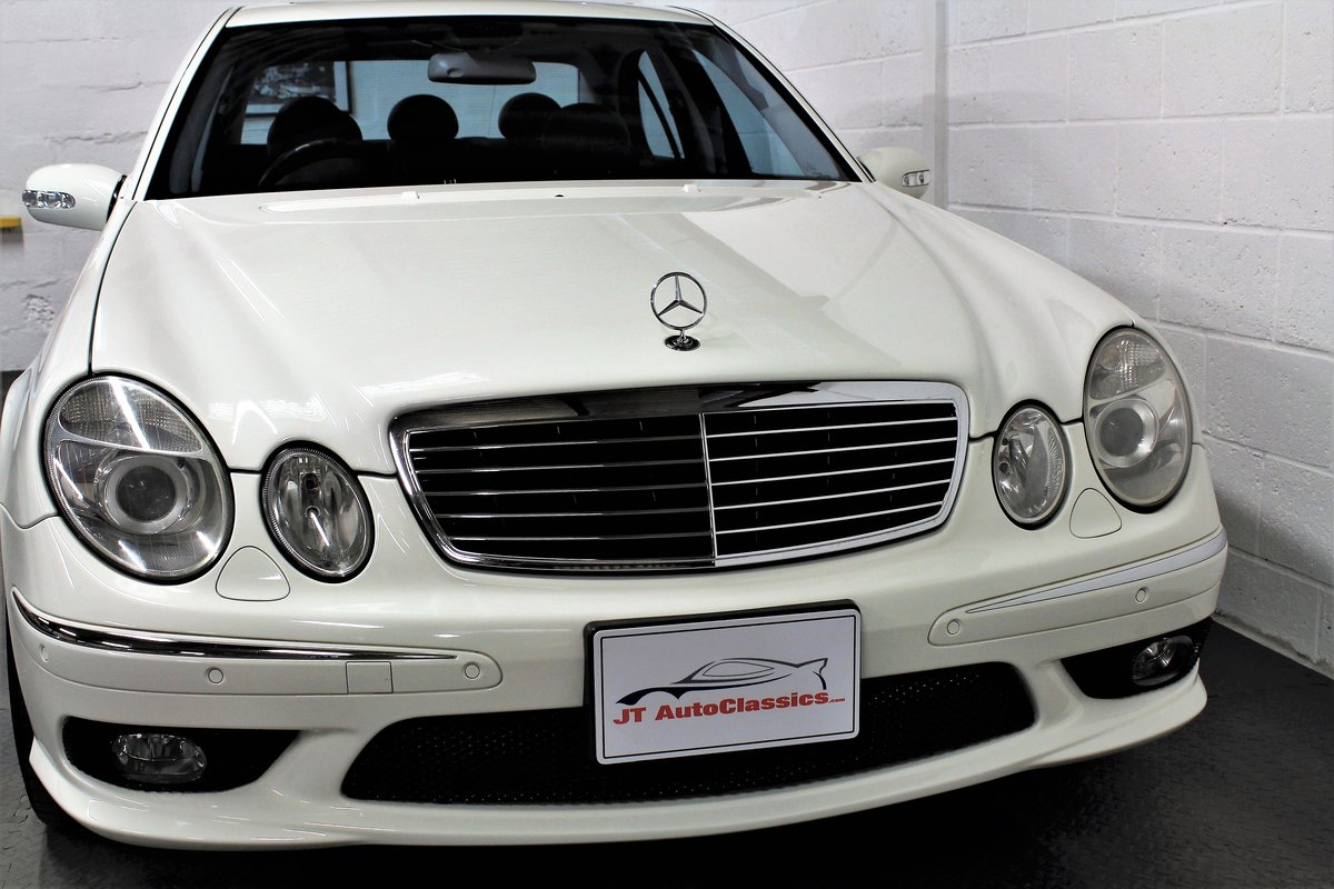 2005 Mercedes-Benz W211 E55 AMG,25,076 miles from new For Sale (picture 1 of 6)