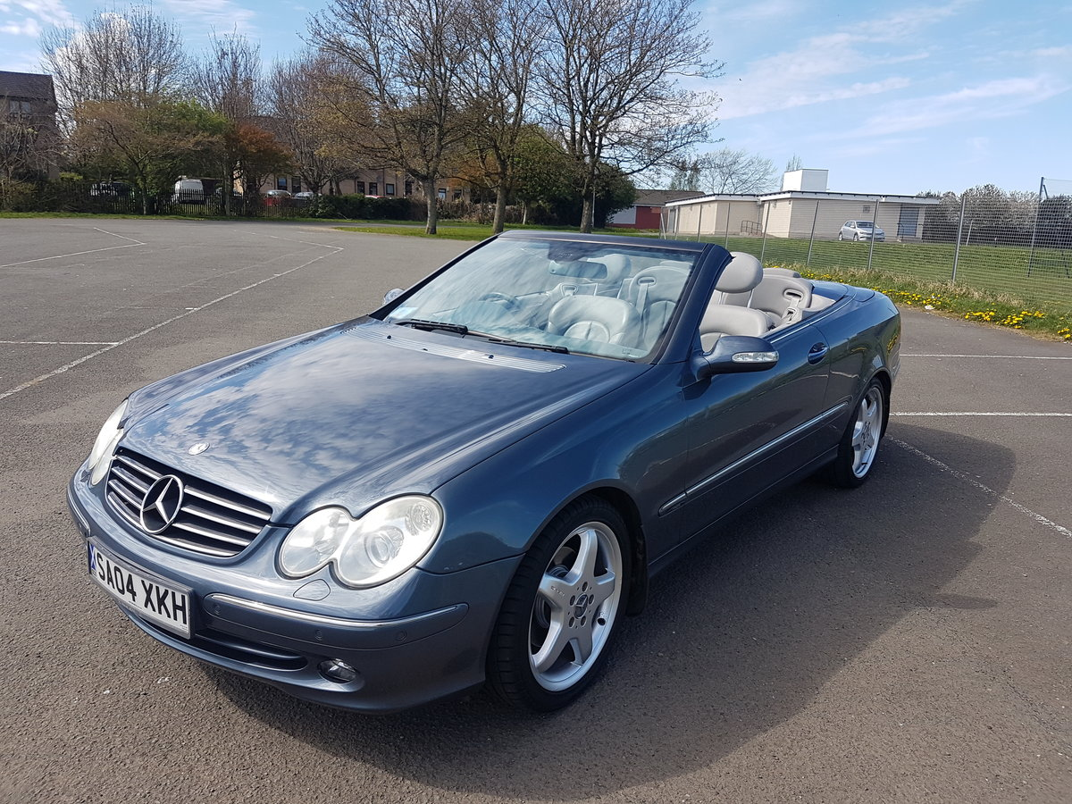 2004 Clk avanguard 3.2v6 For Sale (picture 1 of 6)