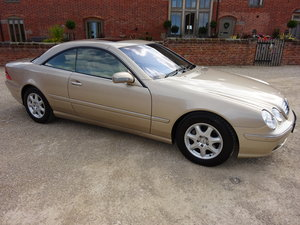 MERCEDES CL 500 2002 - 24,000  MILES  1 OWNER FROM NEW  For Sale