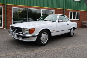 Picture of 1989 Beautiful Low Mileage Mercedes 300SL R107 For Sale SOLD