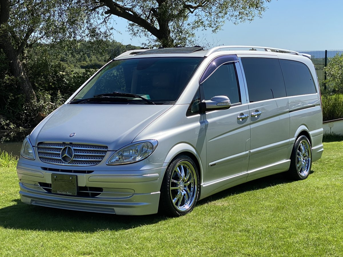 2004 MERCEDES-BENZ VIANO 3.2 AMBIENTE LONG WHEEL BASE BRABUS STYL For Sale (picture 1 of 6)