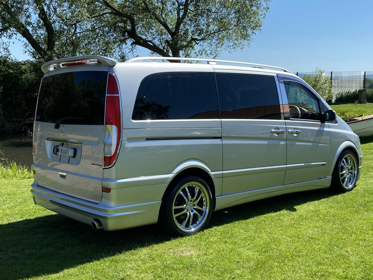 2004 MERCEDES-BENZ VIANO 3.2 AMBIENTE LONG WHEEL BASE BRABUS STYL For Sale (picture 2 of 6)