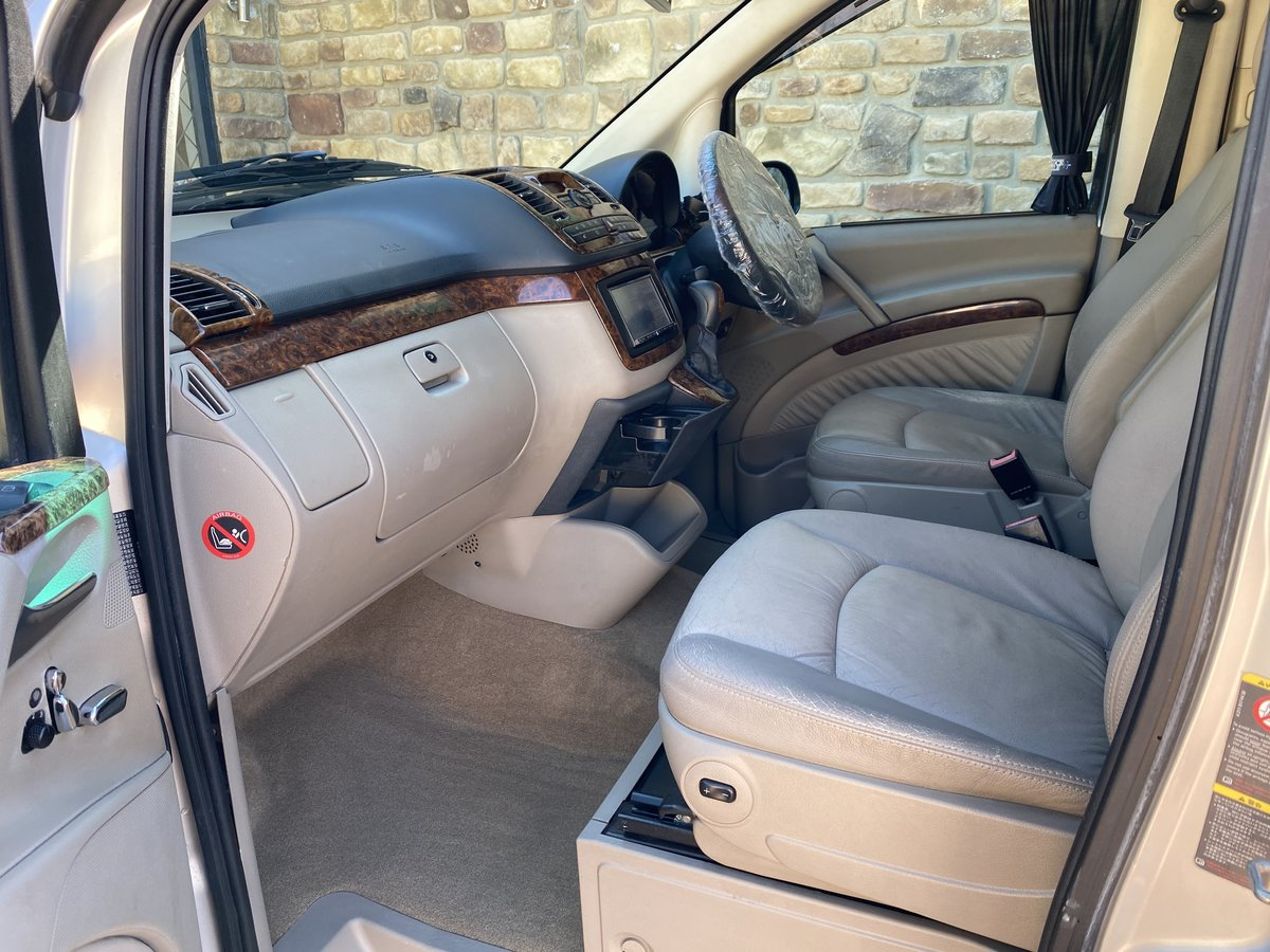2004 MERCEDES-BENZ VIANO 3.2 AMBIENTE LONG WHEEL BASE BRABUS STYL For Sale (picture 3 of 6)