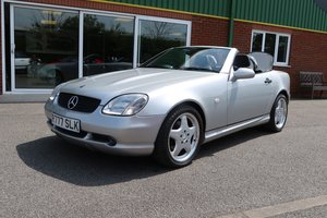 1998 Mercedes SLK 230 AMG with 5,000 miles and one owner For Sale