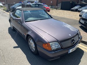 Mercedes 500SL Low Mileage 20 years family owned