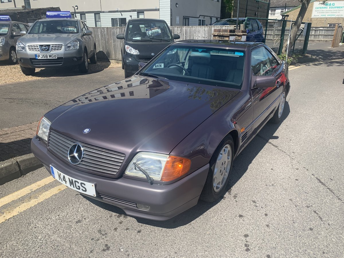 Picture of 1992 Mercedes 500SL Low Mileage 20 years family owned For Sale