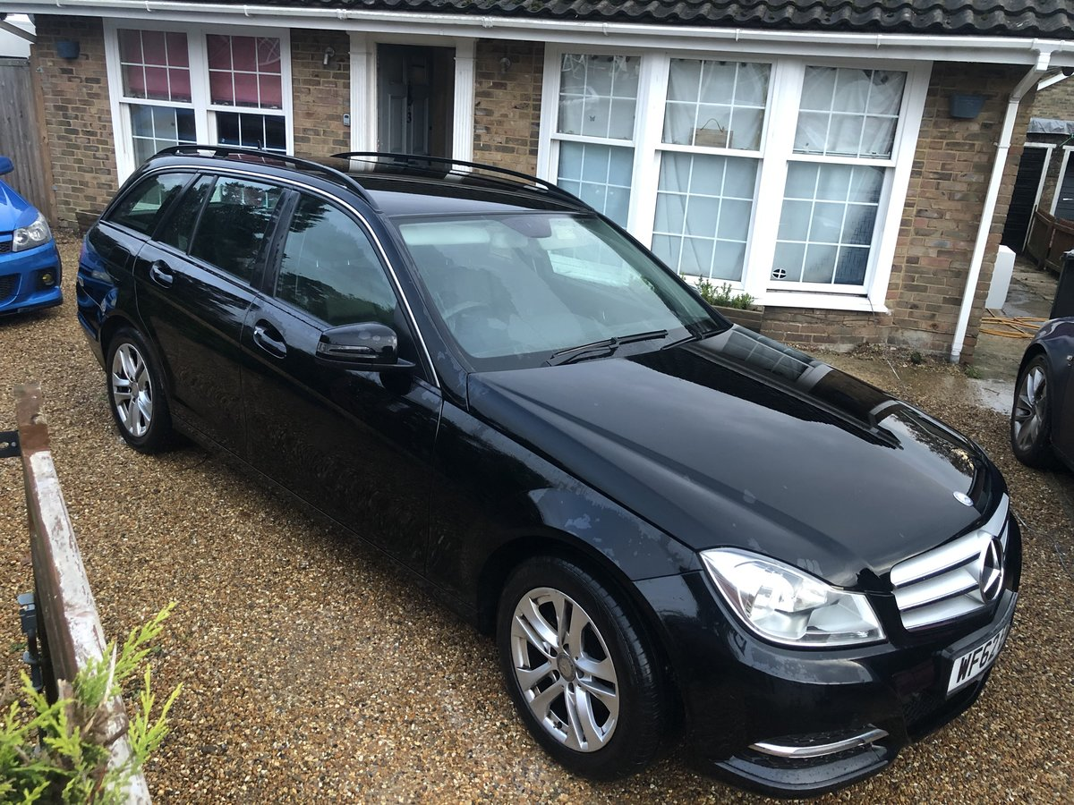 2012 Mercedes-Benz-C-Class CDI Executive SE Blue For Sale (picture 1 of 6)