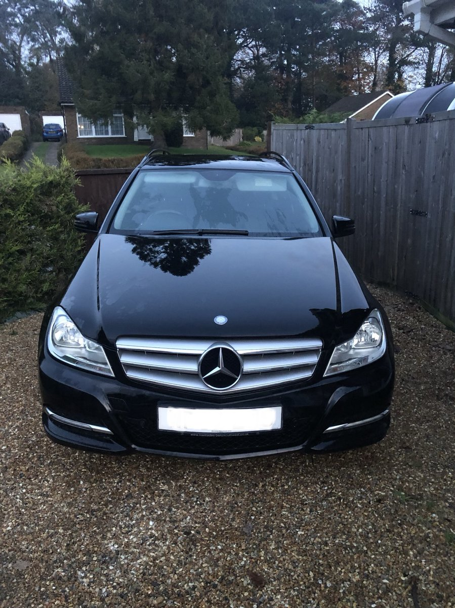 2012 Mercedes-Benz-C-Class CDI Executive SE Blue For Sale (picture 3 of 6)