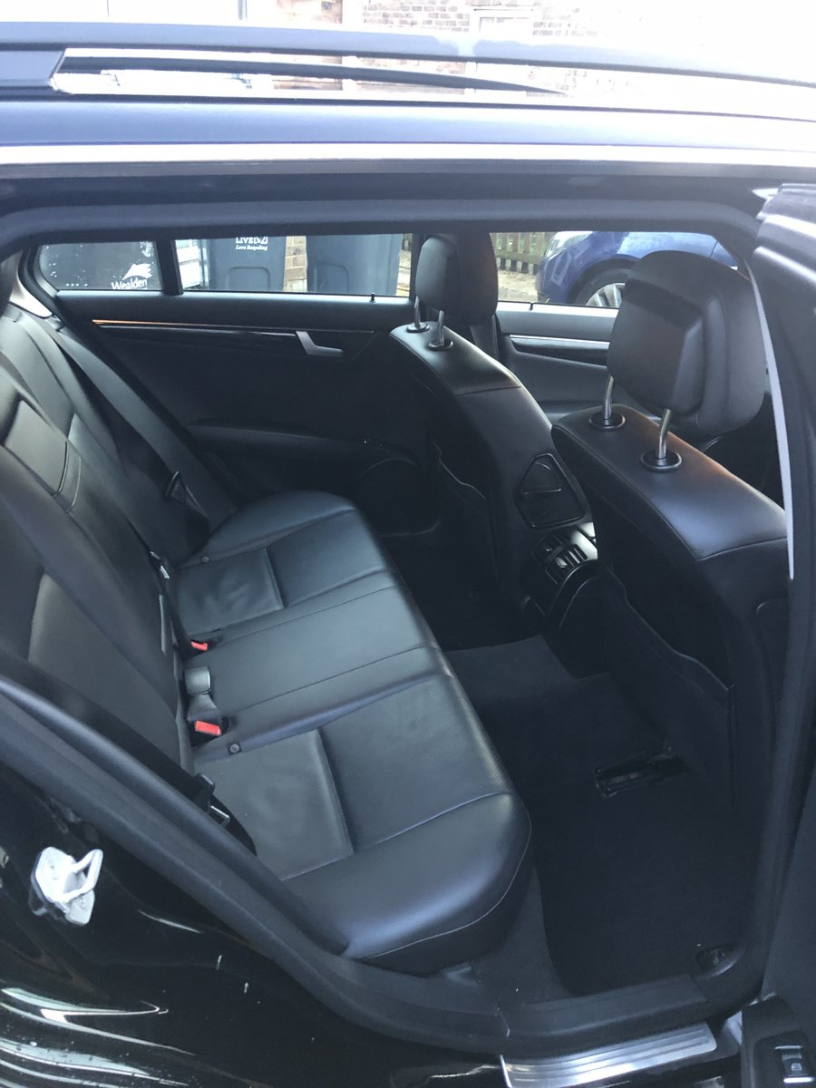 2012 Mercedes-Benz-C-Class CDI Executive SE Blue For Sale (picture 5 of 6)