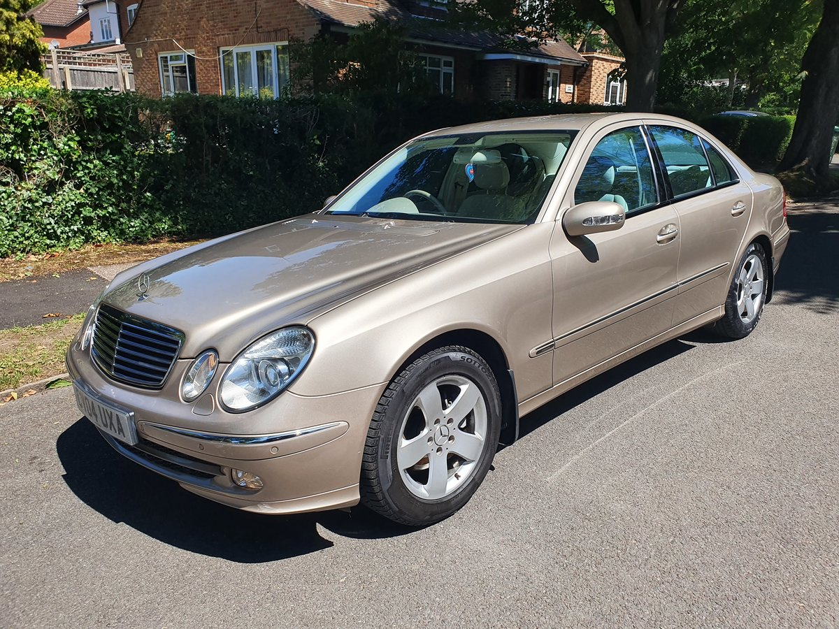 2004 Exceptional Mercedes E240 54300 Miles  Dr Owner From New FSH SOLD (picture 1 of 6)