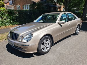 Exceptional Mercedes E240 54300 Miles  Dr Owner From New FSH