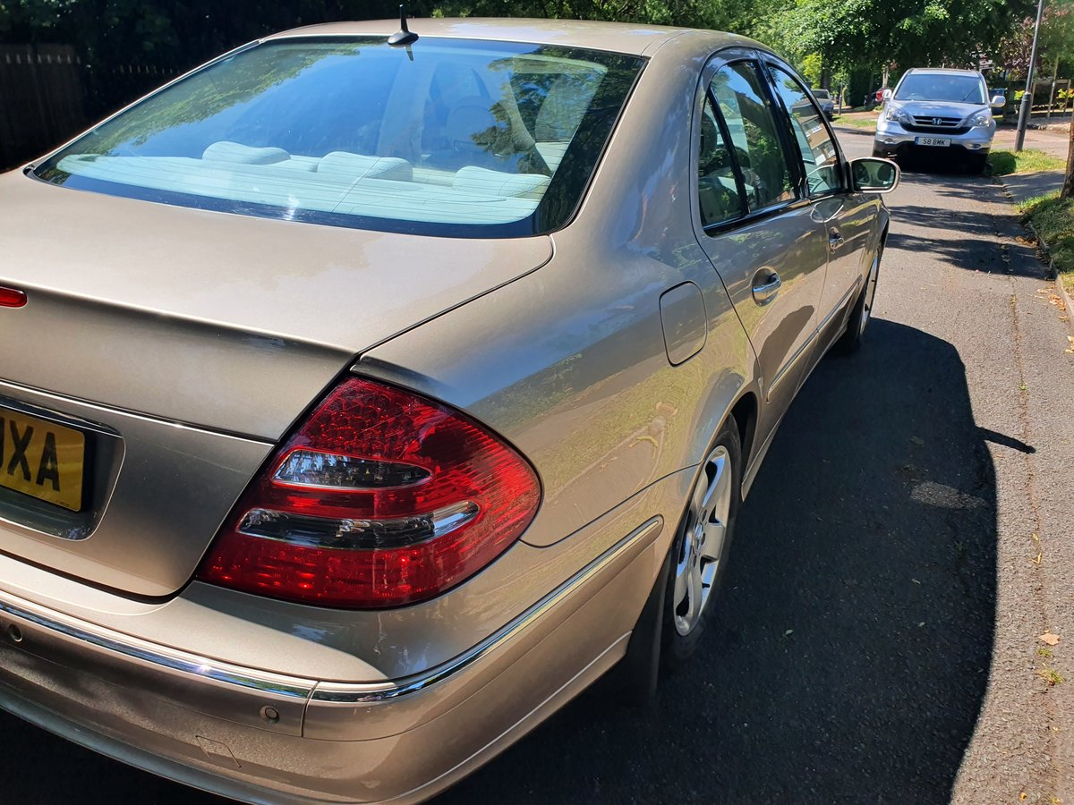 2004 Exceptional Mercedes E240 54300 Miles  Dr Owner From New FSH SOLD (picture 3 of 6)