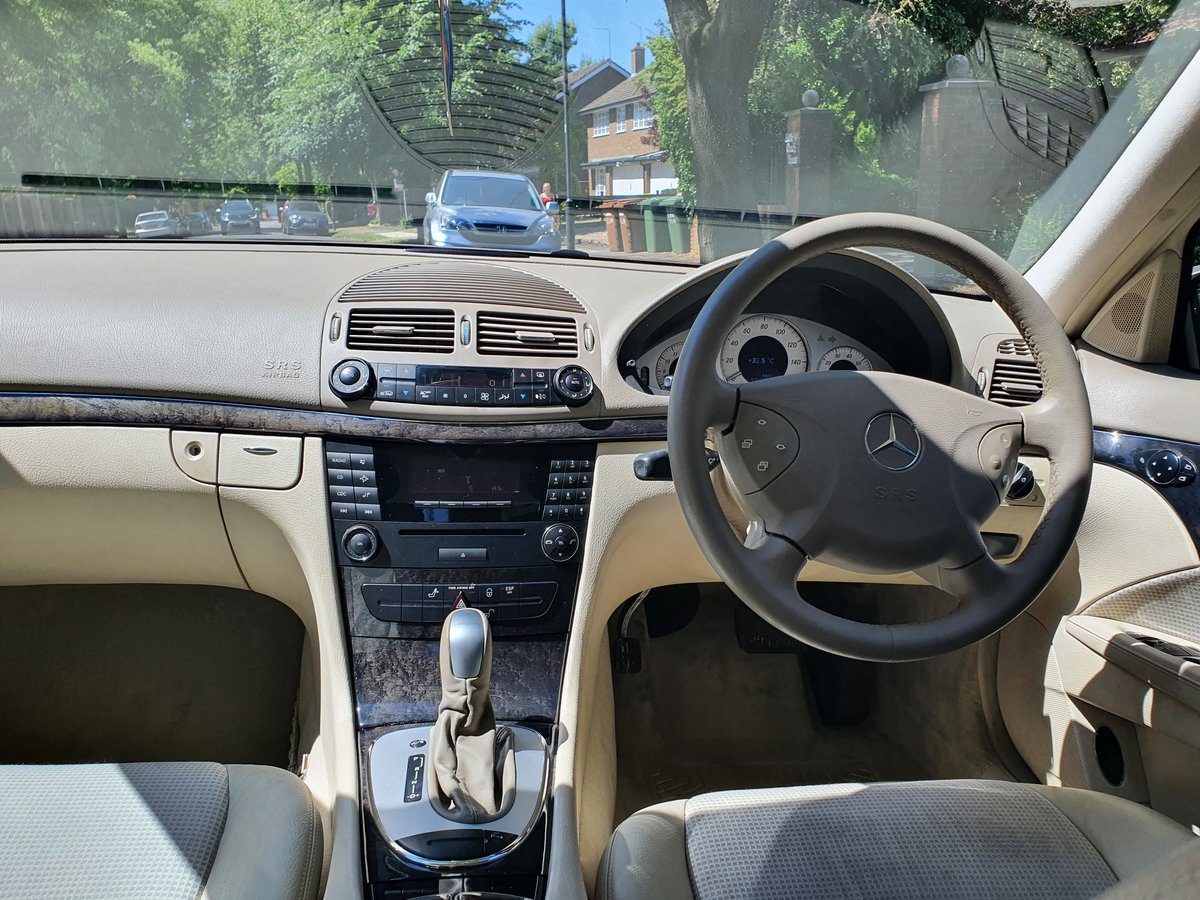 2004 Exceptional Mercedes E240 54300 Miles  Dr Owner From New FSH SOLD (picture 4 of 6)