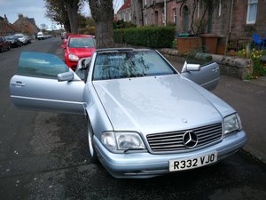 1997 MERCEDES CONVERTIBLE SL320
