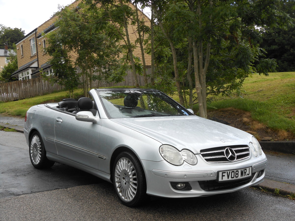 2008 Mercedes CLK 280 Avantgarde 7G-Tronic 2 Former Keeper SOLD (picture 1 of 6)