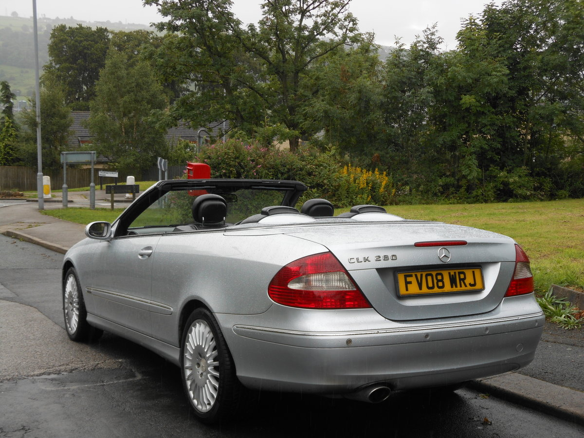 2008 Mercedes CLK 280 Avantgarde 7G-Tronic 2 Former Keeper SOLD (picture 3 of 6)