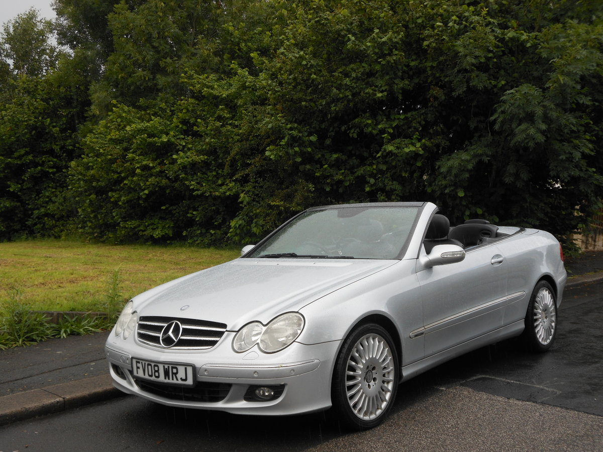 2008 Mercedes CLK 280 Avantgarde 7G-Tronic 2 Former Keeper SOLD (picture 4 of 6)
