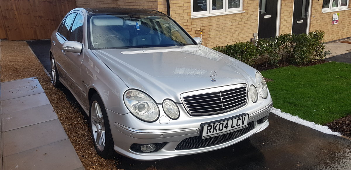2004 Mercedes W211 E55 AMG Panoramic MOT March 2021 For Sale (picture 1 of 6)
