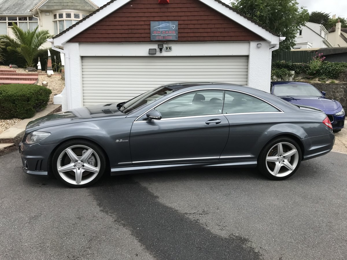 2008 MERCEDES CL63 AMG 525BHP Top of the range PX/POSS For Sale (picture 1 of 6)