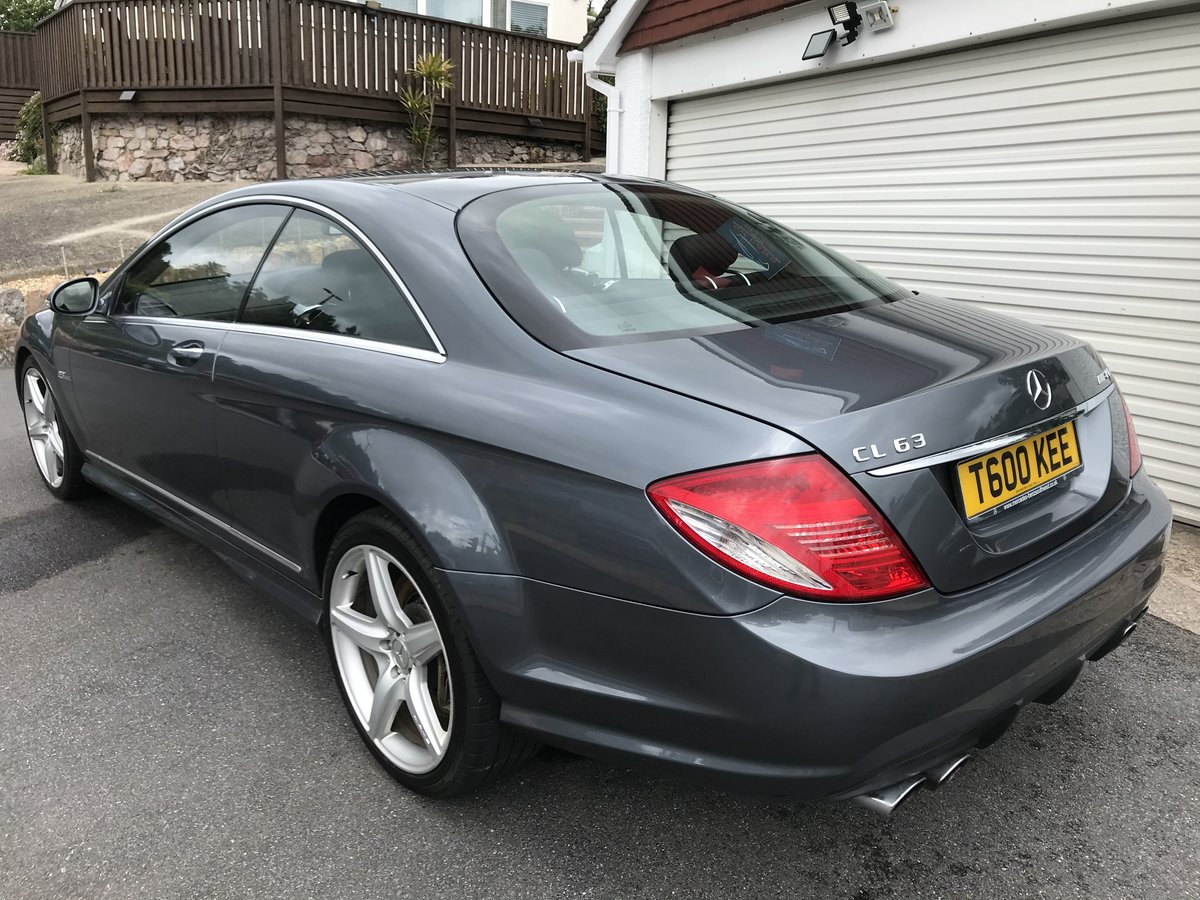 2008 MERCEDES CL63 AMG 525BHP Top of the range PX/POSS For Sale (picture 3 of 6)
