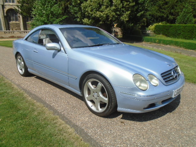 2002 Mercedes CL500 Coupe.  For Sale (picture 1 of 6)