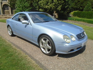 2002 Mercedes CL500 Coupe.