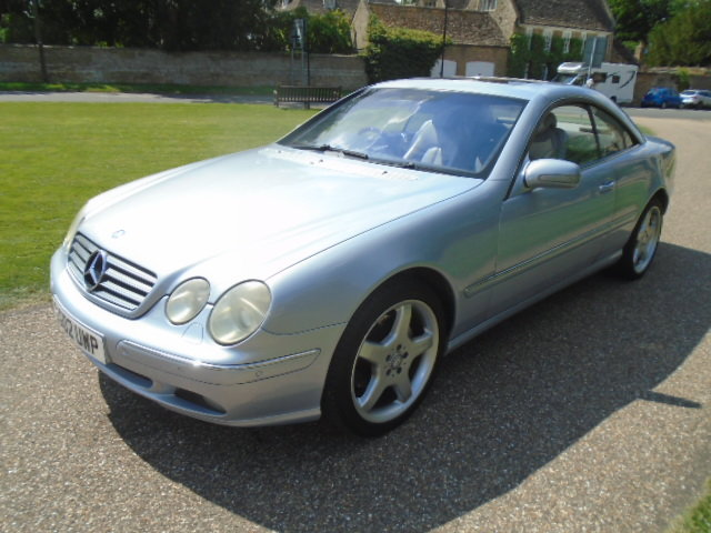 2002 Mercedes CL500 Coupe.  For Sale (picture 2 of 6)