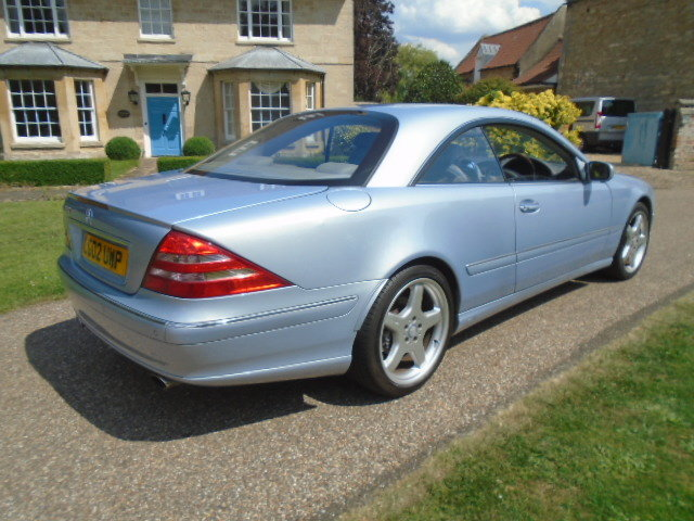 2002 Mercedes CL500 Coupe.  For Sale (picture 3 of 6)